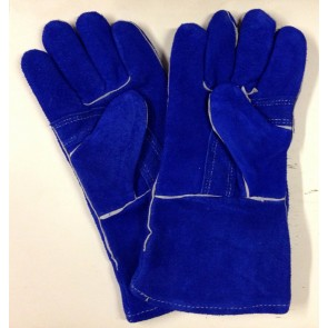 Pair Of Somerfire Blue Double Palm Heat Resistant Gloves