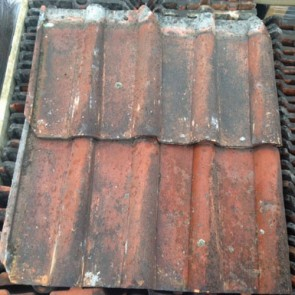 Clay Double Roman Reclaimed Roof Tile
