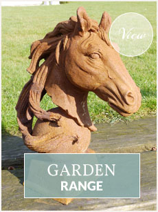 Garden statues and furniture